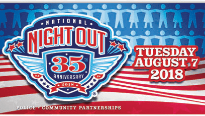 National Night Out 2018 Logo
