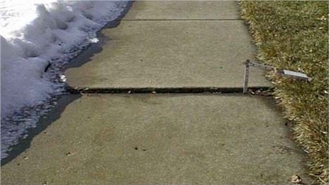 Measurement of Sidewalk Rise