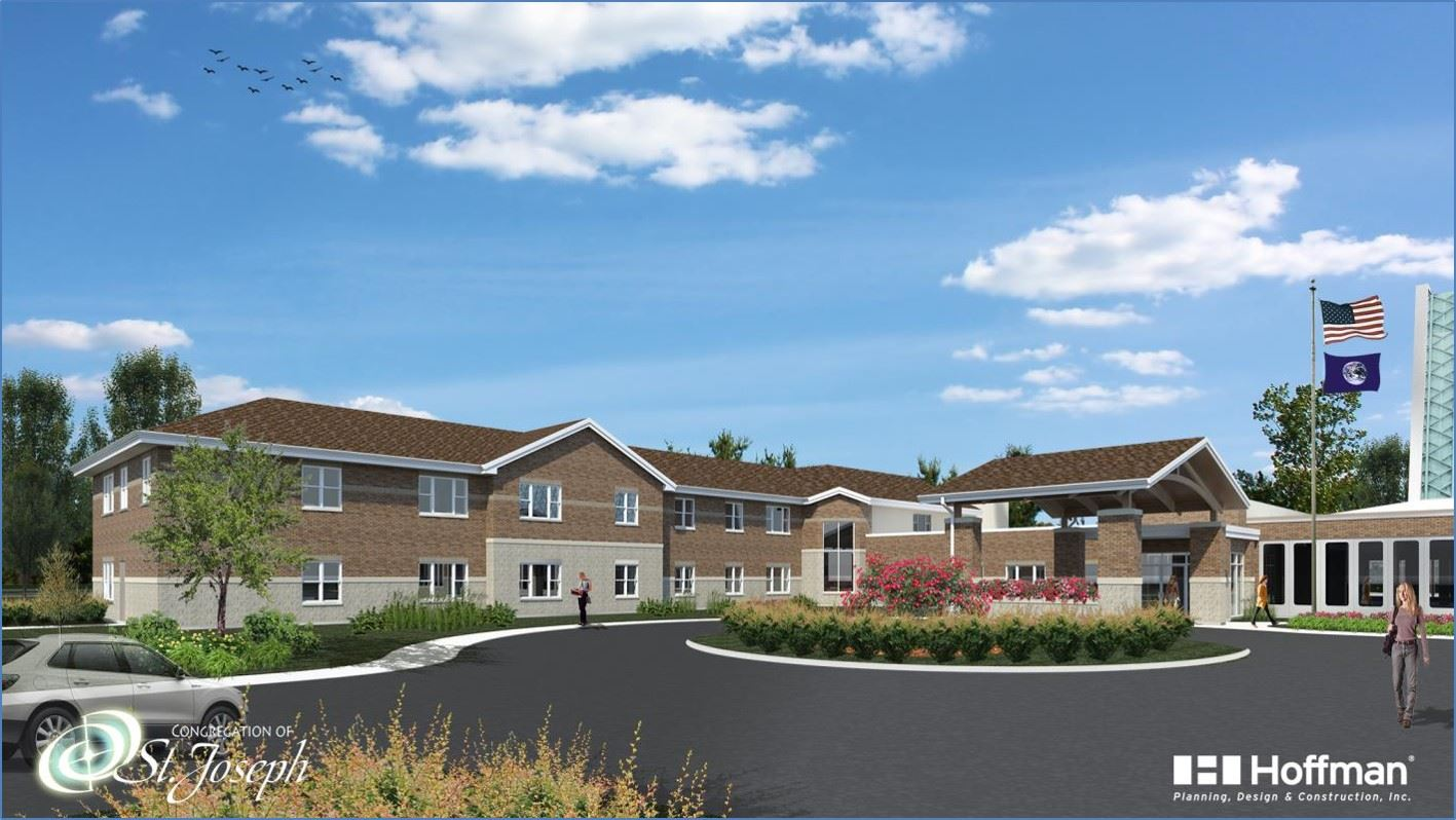 Rendering of the new Sisters of St. Joseph Facility